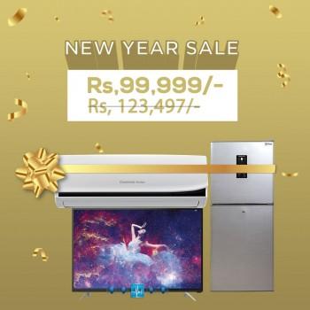 Changhong Ruba - New Year Bundle Offer - L32G3EM-CHR-DD308SP-12JTW